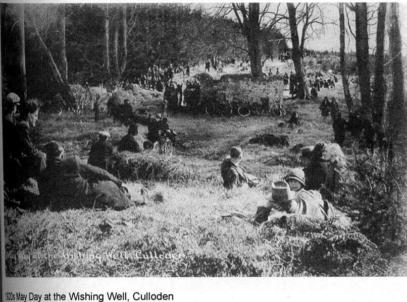 Culloden Wishing well 1920s
